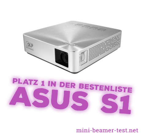 asus s1 test vergleich mini beamer. Black Bedroom Furniture Sets. Home Design Ideas