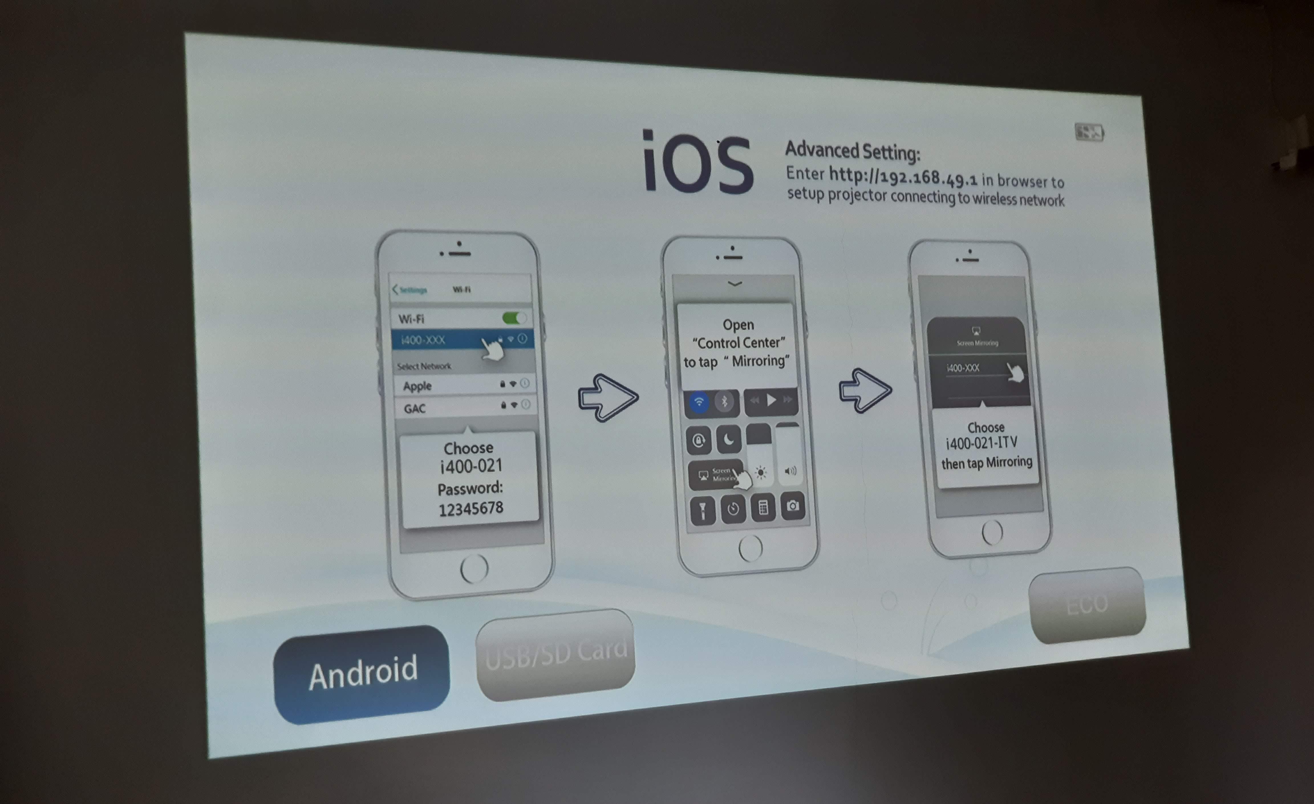 mobileCinema i400