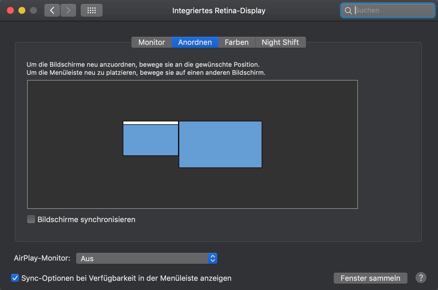 Mac Bildschirm auf Beamer übertragen